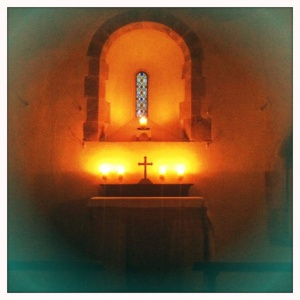 St Mary's Chapel, North Marden – location for SSC monthly Night Prayer.