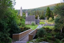 Glendolough an ancient Irish Monastic City, County Wicklow. Ireland