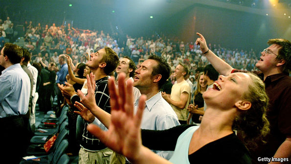 Populist evangelical worship has become a commodified expression of Churchianity.